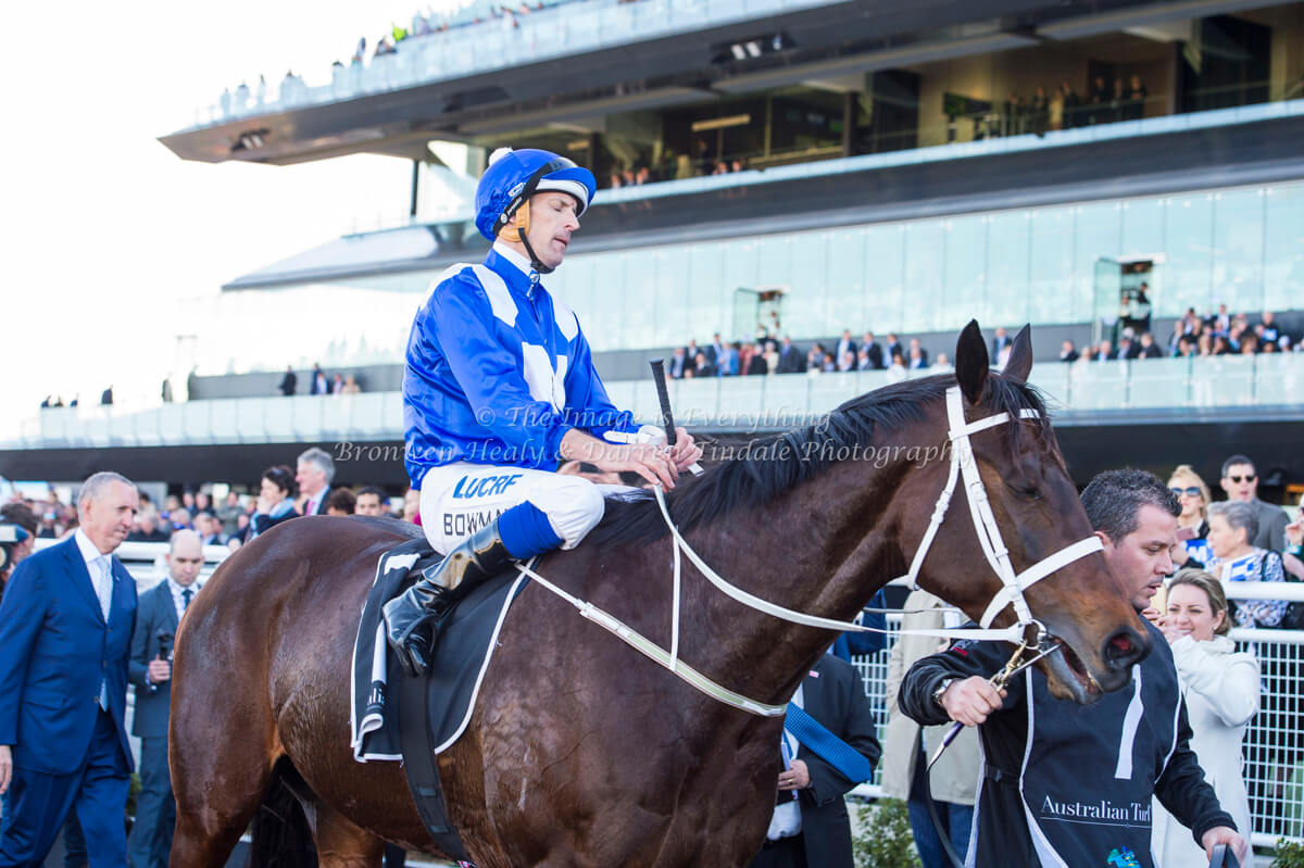 Hugh Bowman and Winx Pic: Bronwen Healy. The Image is Everything.