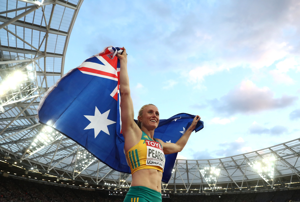 Australia has no other podium ranked runner aside from Sally Pearson. Pic: Alexander Hassenstein/Getty Images for IAAF