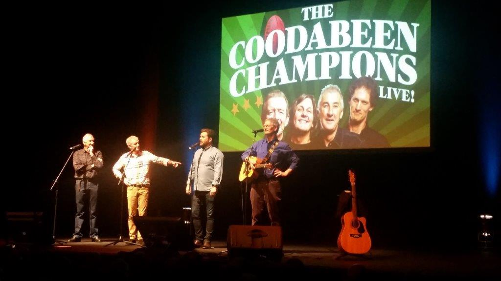 Coodabeens on stage