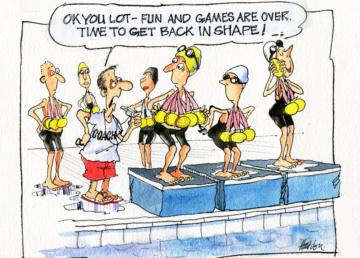 George Haddon on the games hangover
