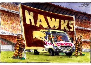 Jeff introduces the Hawks' latest recruit