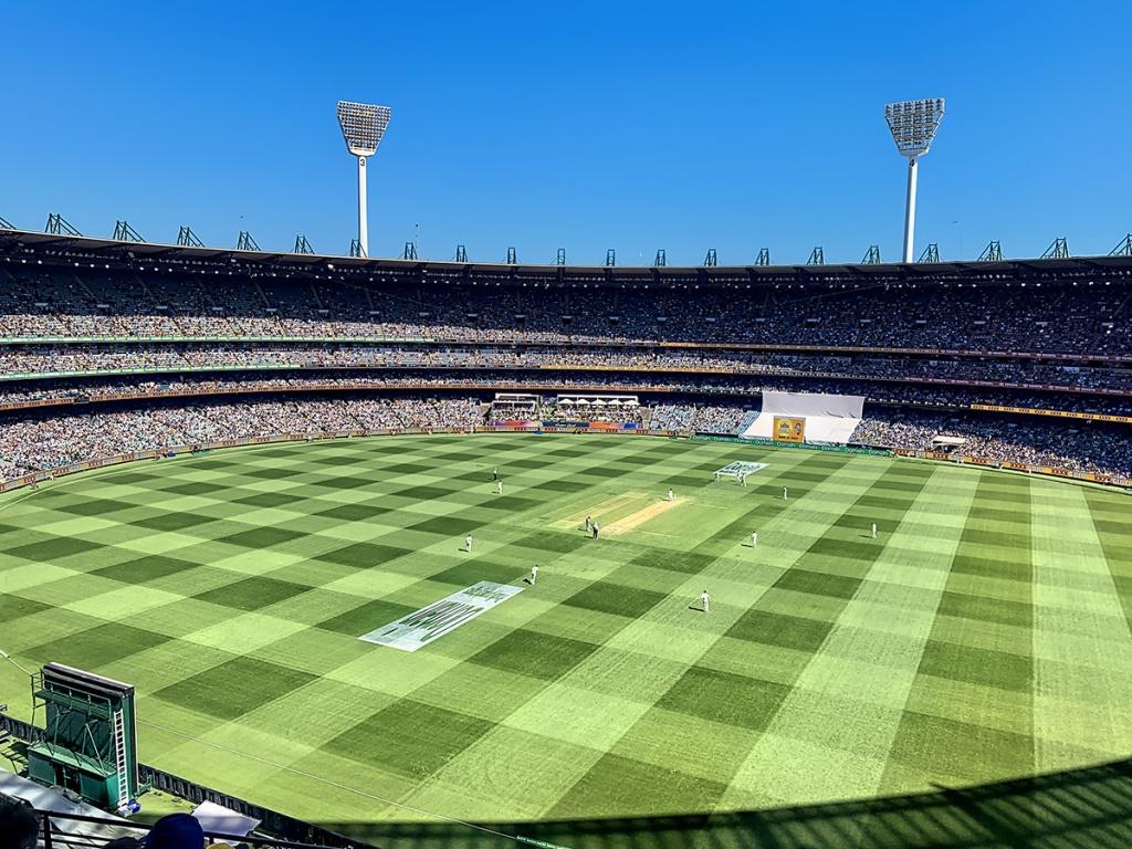 MCG Boxy Dayt Test Day one 2019. Australia v New Zealand