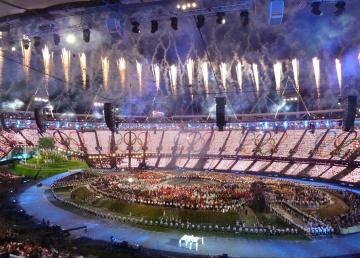 London 2012 Opening Ceremony fireworks